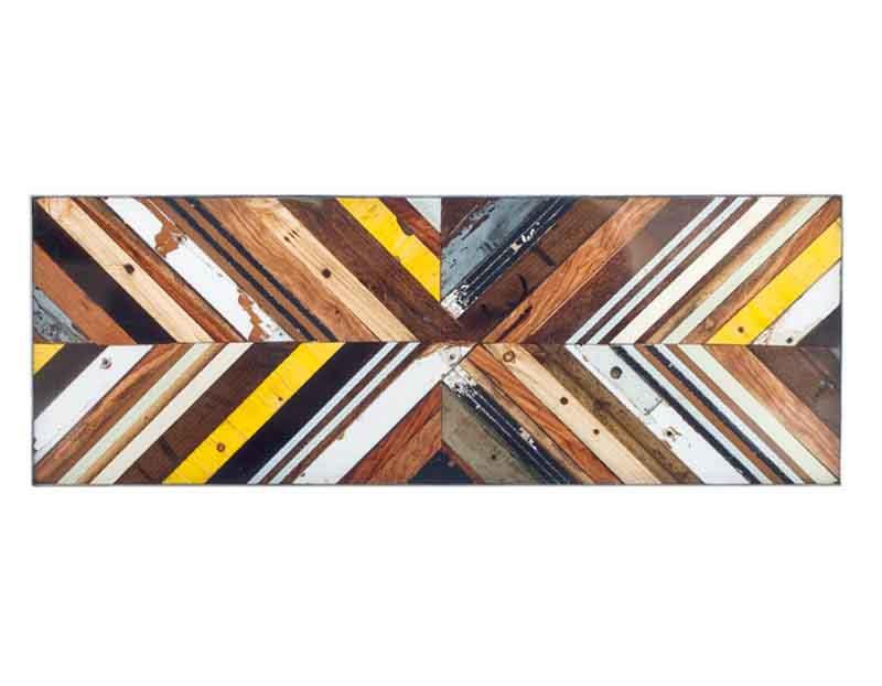 legni colorati di recupero
