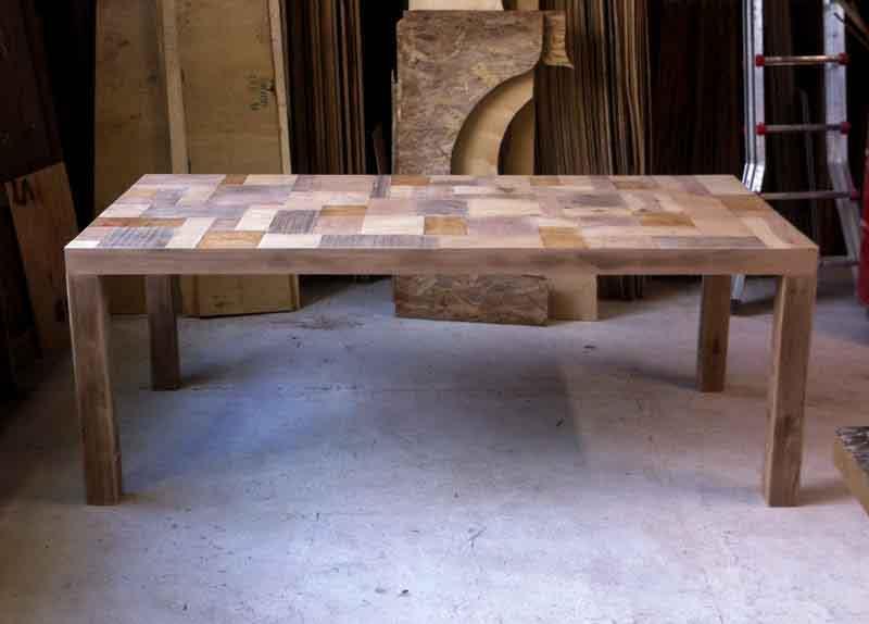 tavoli di legno su misura Milano