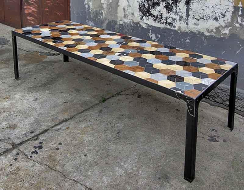tavolo artigianale su misura Milano