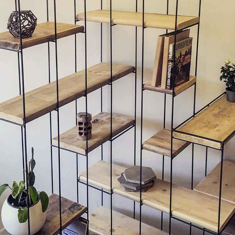 libreria del te, librerie su misura