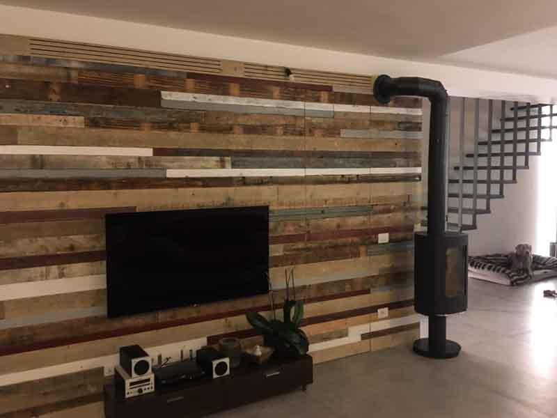 rivestimento parete di legno