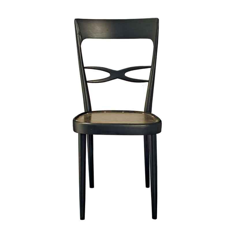 sedia riciclata con lamiera