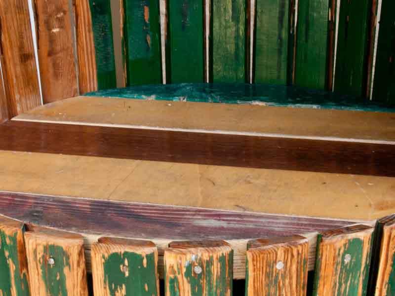 tapparella di legno verde riciclata