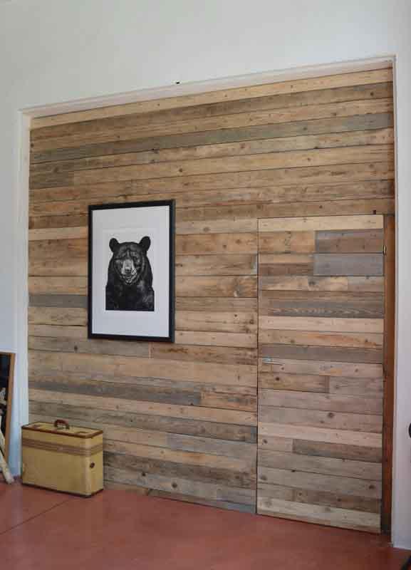 parete legno recupero