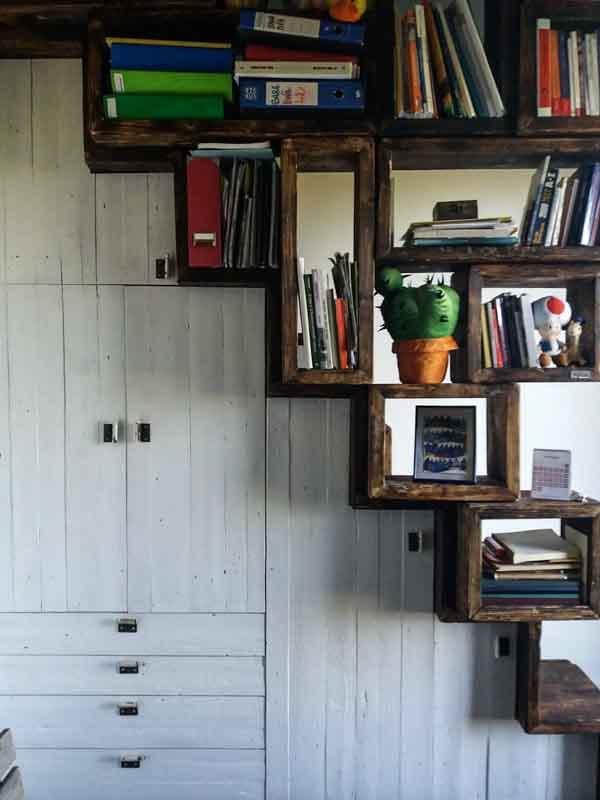 scale fatte a mano di legno Milano