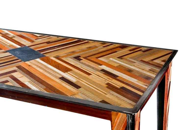 tavolo mosaico ardesia
