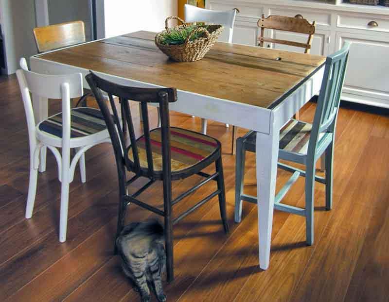 tavolo allungabile fatto a mano su misura