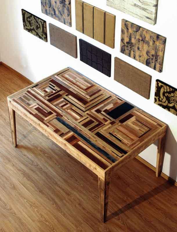 tavolo mosaico artigianale Milano
