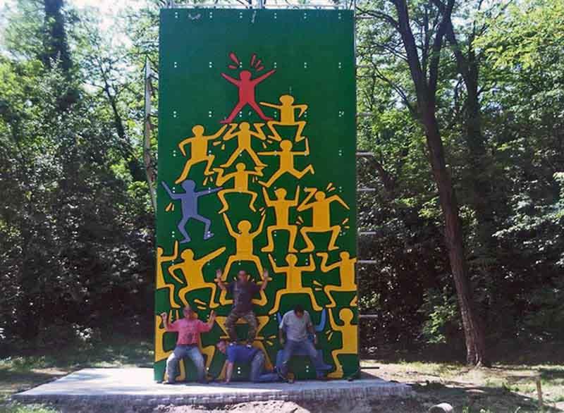 parete da arrampicata Controprogetto