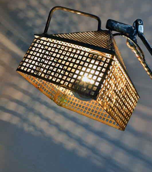 lampade artistiche di ferro