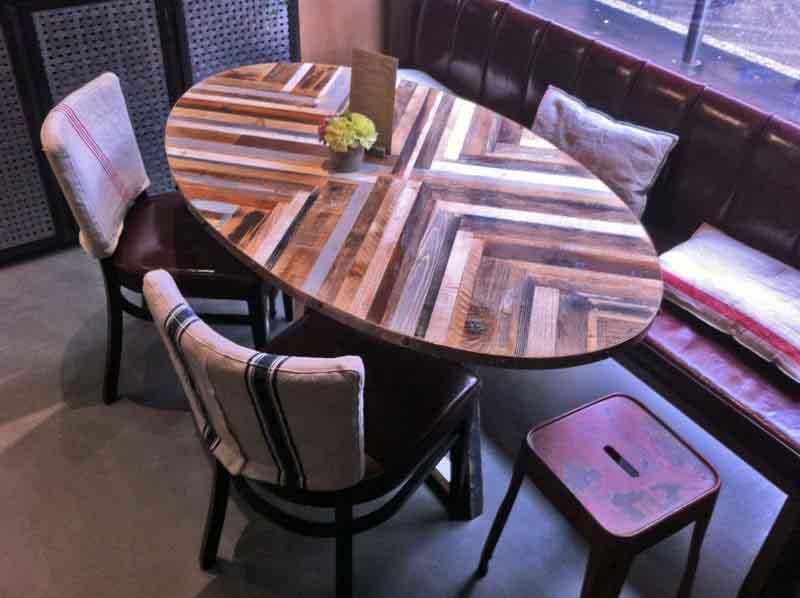 tavolo ovale pandenus milano