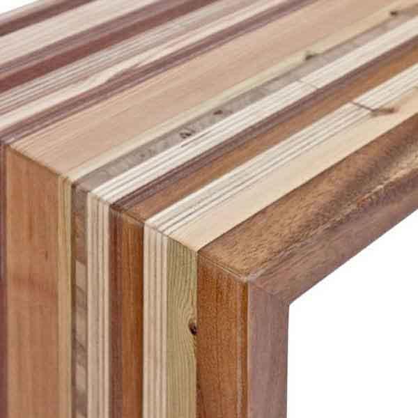 legno massello lavorato a mano