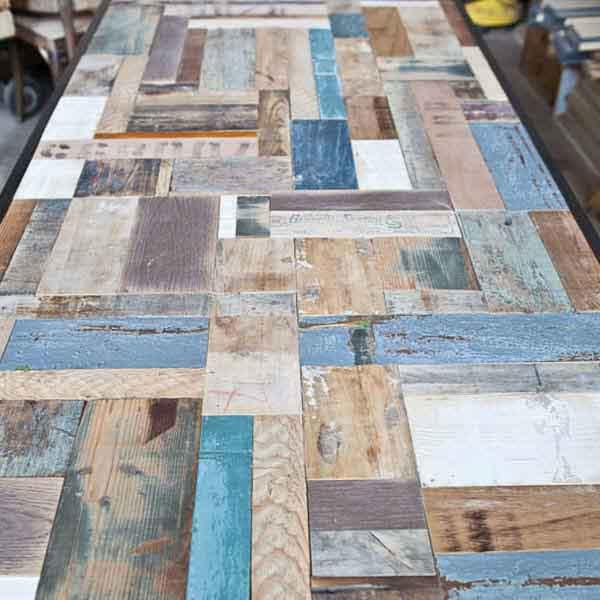 pattern scarti di legno di recupero Controprogetto