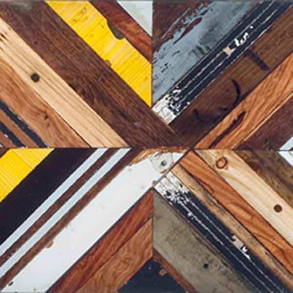 pattern legno colorato intrecciato