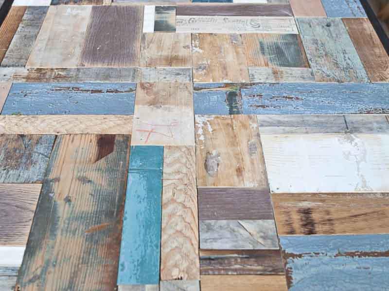 tavolo legno riciclato